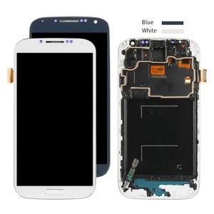 Image 4 - ЖК дисплей с рамкой, дигитайзер сенсорного экрана для SAMSUNG Galaxy S4, i9500, i9505, i9506, i9515, i337, экран 5 дюймов