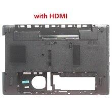 Dolna obudowa do laptopa dla Packard Bell TK11BZ TK36 TK37 TK87 TK13BZ pokrywa dolna z HDMI