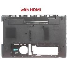 Laptop Bottom Case For Packard Bell TK11BZ TK36 TK37 TK87 TK13BZ Base Cover with HDMI