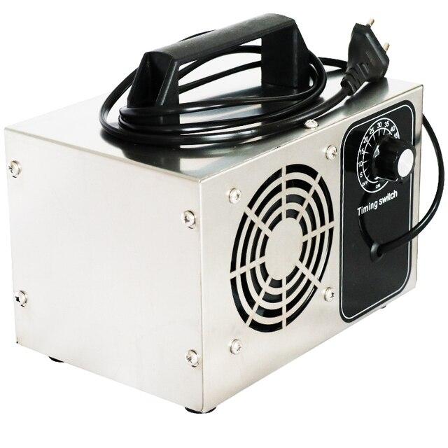 ATWFS Generatore di Ozono 220V 28g Protable O3 Macchina Ozonizzatore Purificatore D'aria di Casa Più Pulita Disinfezione Sterilizzatore Formaldeide 2