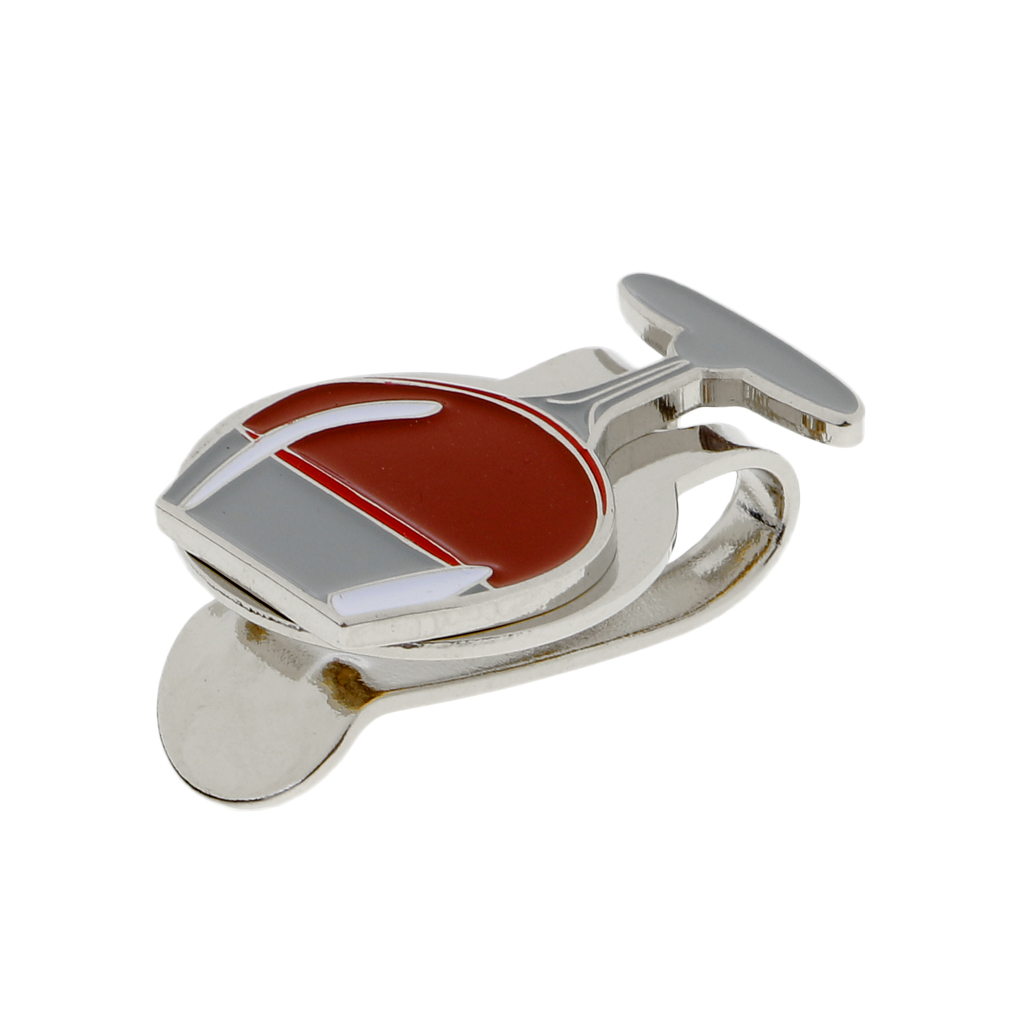 Golf Hat Clip With Magnetic Detachable Ball Marker Portable Gift