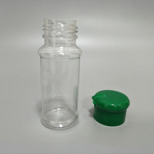 100% Brand New 12 PCS Plastic Pepper Shakers Capacity 100ml 39*105mm Non-Toxic And Durable