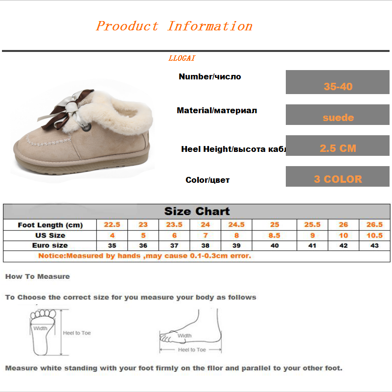New Autumn Flat Keep Warm Ankle Boots Women Lace Up Short Plush Snow Boots Shoes Woman Winter Cotton Shoes Women Chaussure 2019 56