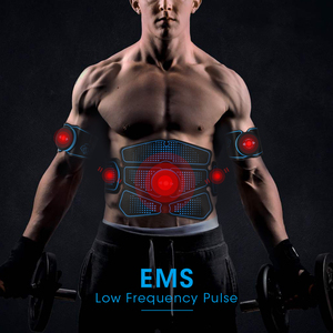 Image 2 - Rechargeable EMS Hip Trainer Muscle Stimulator ABS Fitness Buttocks Butt Lifting Buttock Toner Trainer Slimming Massager Unisex