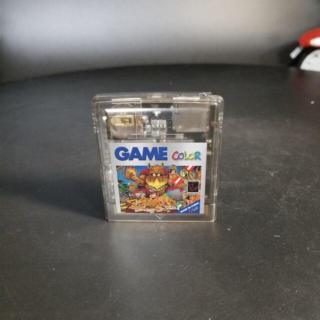 خرطوشة لعبة مخصصة الصين الإصدار 700 في 1 EDGB ريمكس بطاقة الألعاب لوحدة التحكم في الألعاب GB GBC