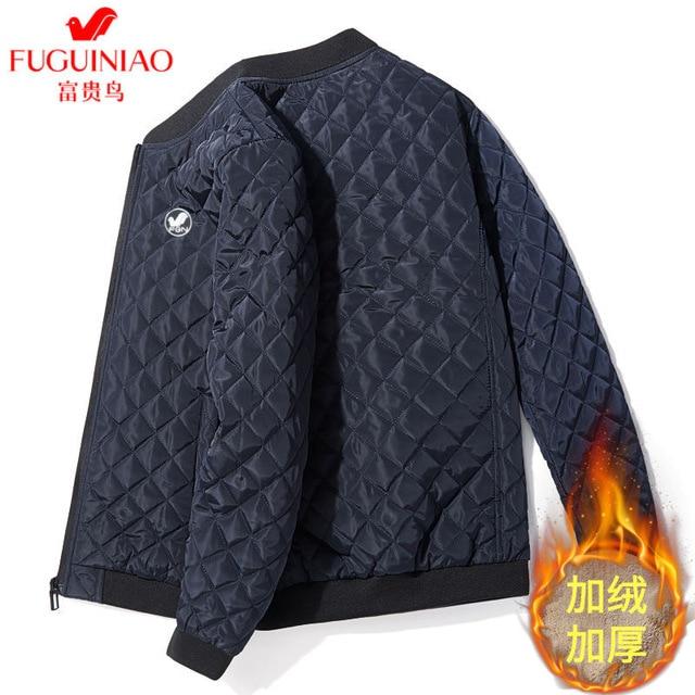 2020 New Autumn Winter Cotton Coat Men'S Jacket Men'S Cotton Jacket Jacket  Jacket Fat Male Army Velvet Clothes 3