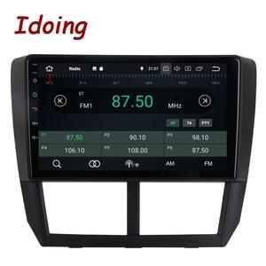 """Image 2 - Idoing 9 """"PX6 Auto Android 10 Radio Multimedia Speler Voor Subaru Forester 3 Sh 2007 2013 4G + 64G Gps Navigatie 2.5D Geen 2 Din Dvd"""