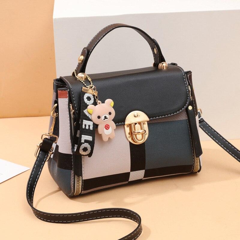 Women Messenger Bags Leather Shoulder Bag Ladies Handbags 2020New Purse Satchel Fashion Tote Bags Gift