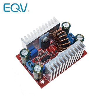 DC 400W 15A Step-up Boost Converter Constant Current Power Supply LED Driver 8.5-50V to 10-60V Voltage Charger Step Up Module