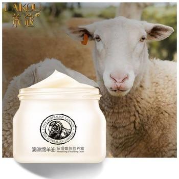 LAIKOU Sheep Oil Face Cream Moisturizing Cream Anti Aging Anti Wrinkle Whitening Day Serum For Face Skin Care Serum Bio Oil 90g 1