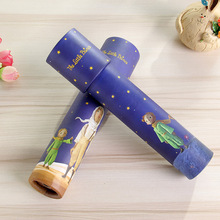 2020 Montessori Rotating Kaleidoscope Imaginative Cartoon Prince Children Interactive Logical Magic Educational for Kids Toys E