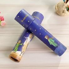 2020 Montessori Rotating Kaleidoscope Imaginative Cartoon Prince Children Interactive Logical Magic Educational for Kids Toys E