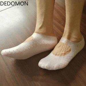 1 Pair Gel Sock Silicone Foot