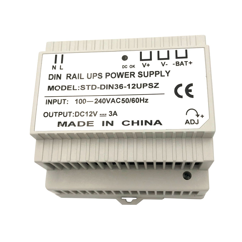 Din Rail 12V 3A Switching Power Supply With UPS Charging