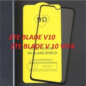 Image 1 - Cobertura completa premium protetor de tela película protetora completa vidro temperado para lâmina zte v10 v 10 vita 9 h