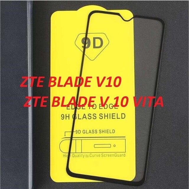 Cobertura completa premium protetor de tela película protetora completa vidro temperado para lâmina zte v10 v 10 vita 9 h