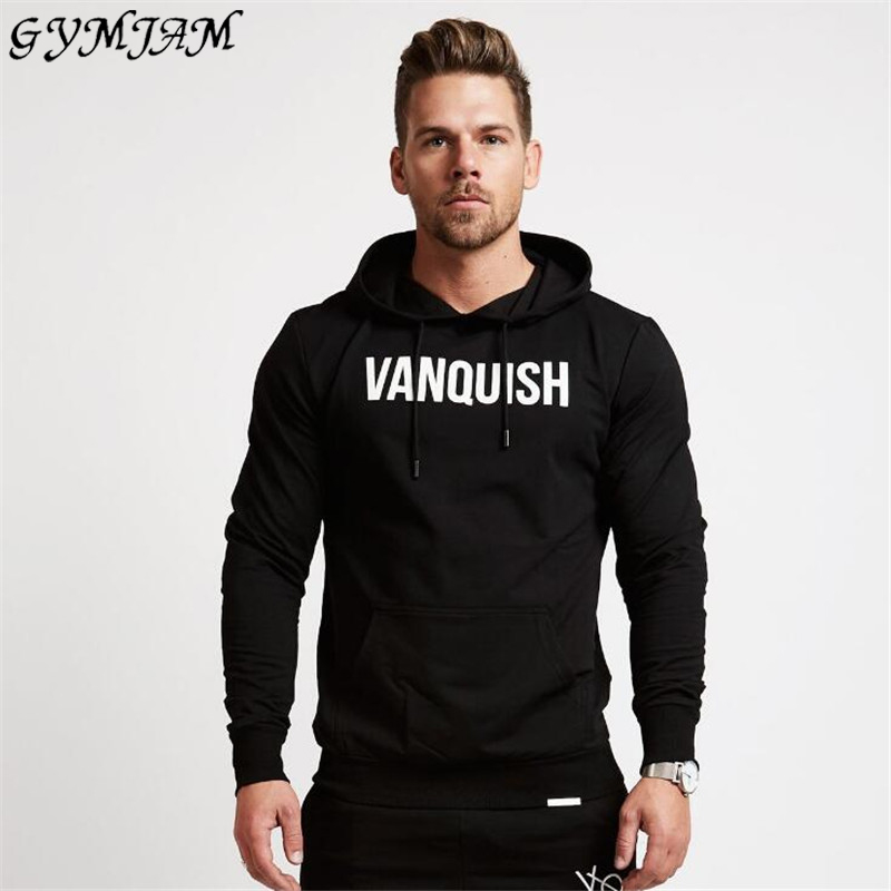 Casual Streetwear Fashion Brand Men's Hoodie Jogger Fitness Cotton Sportswear Casual Men's Clothing