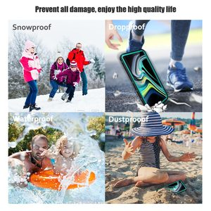 Image 4 - IP68 360 Full Protection Waterproof Phone Case for Samsung Note10 S10 S9 Plus Swimming diving Cover for S20 Note 10+ 9 8 Coque
