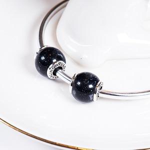 Image 4 - Azul venus pedra 925 prata esterlina contas encantos ajuste pulseiras & pulseiras trbs016