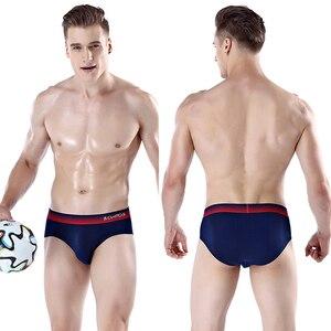 Image 5 - 7Pcs \ הרבה תחתוני גברים תחתוני גברים תחתוני כותנה Boxershorts Calecon Homme הלבשה תחתונים סקסי להומוסקסואלים מהכנסייה מחליק
