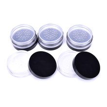 10 Ml Kosong Isi Ulang Kosmetik Loose Face Powder Case Bedak Kotak Kosmetik Kosong Kontainer Perjalanan(China)