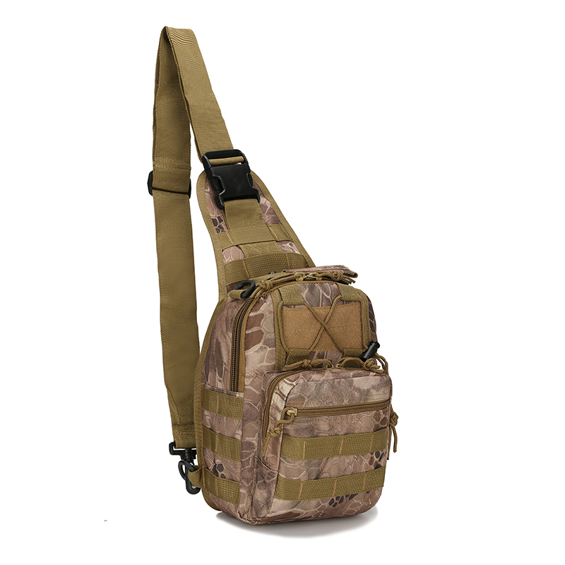600D Waterproof Oxford Tactical Chest Bag Molle Military Airsoft Crossbody Bag Outdoor Hunting Hiking Camping Chest Shoulder Bag|Climbing Bags| |  - title=