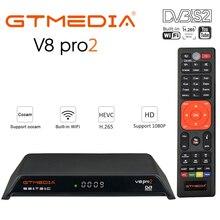 цена на GTMedia V8 Gtmedia V8 pro2 H.265 Full HD DVB-S2 DVB-T2 Cable Satellite Receiver Built-in 2.4G WiFi Better Than Gtmedia v8 nova