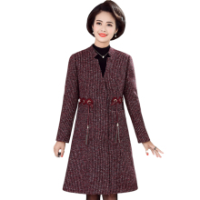 Autumn Winter Trench Coat Women Elegant Plus size Casual Long Outerwea