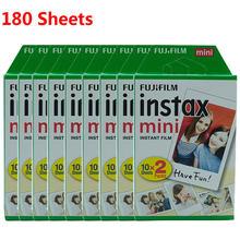 Пленка Fujifilm Instax Mini 10 20 40 60 80 100 140 листов для камеры FUJI Instant Photo Camera Mini 11 9 8 7s 70 90 новая горячая распродажа