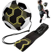 Adult Youth Soccer Ball Juggle Bags Auxiliary Circling Belt Kids Football Training Equipment Solo Soccer Trainer Football Kick