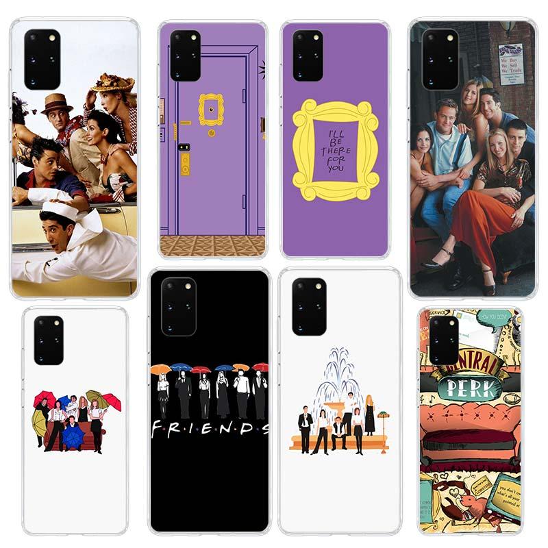 Чехол друзья ТВ шоу для Samsung Galaxy S20 FE Ultra 5G S10 Plus S10e S9 Note 20 10 Lite прозрачный силиконовый чехол для телефона