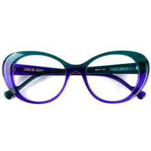 Marca francesa de moda monturas de gafas Blogger marca de alta calidad diseñador butterfly cyberstar debe tener