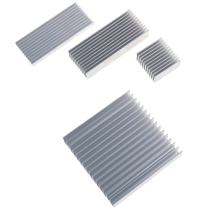 Heatsink Cooler Radiator Cooling-Pad Led-Ic-Chip Aluminum-Alloy 1pc for High-Power 4-Sizes