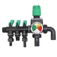 Lawn Outdoor Irrigation Home Quick Garden 3 Way Yard Watering Tap Faucet Practical Hose Splitter Accessories Connector