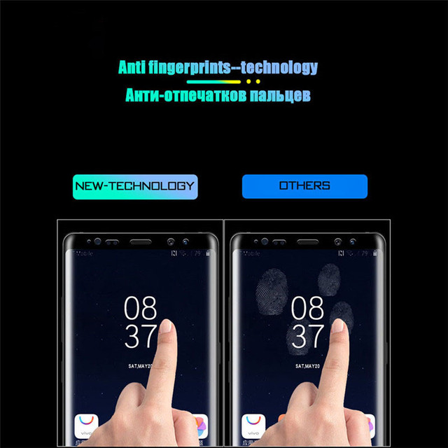 111D Tempered Glass For Samsung Galaxy S10 S9 S8 Plus S10e Screen Protector For Galaxy Note 8 9 10 Plus Glass Film 6