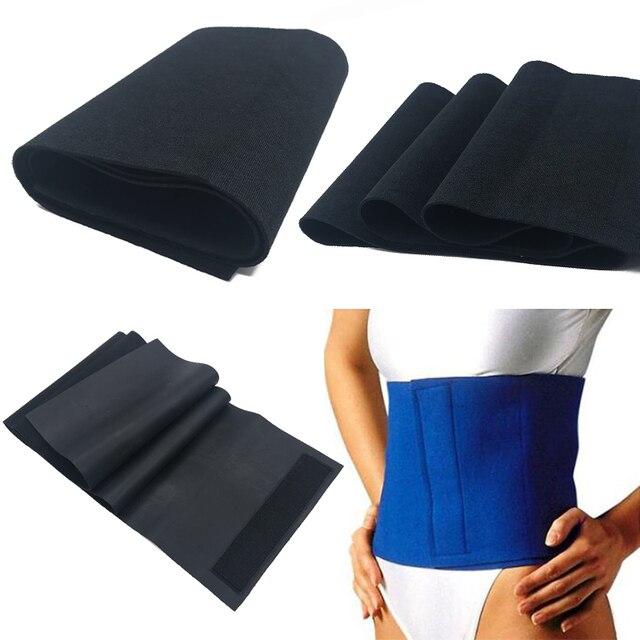Sauna Slimming Abdomen Shaper Sweat Belt Lose Weight Machine Fat Cellulite Slimming Body Shaper Waist Cincher Trainer Face Lift 2
