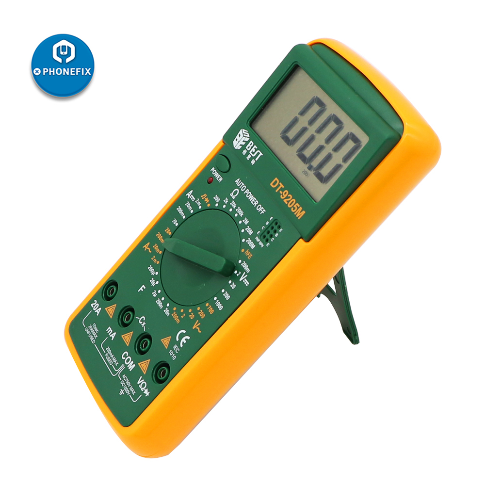 DT-9205M Handheld Electronic Multimeter phone repair DC voltage electric <font><b>AC</b></font> voltage current LCD Digital Multimeter tester image