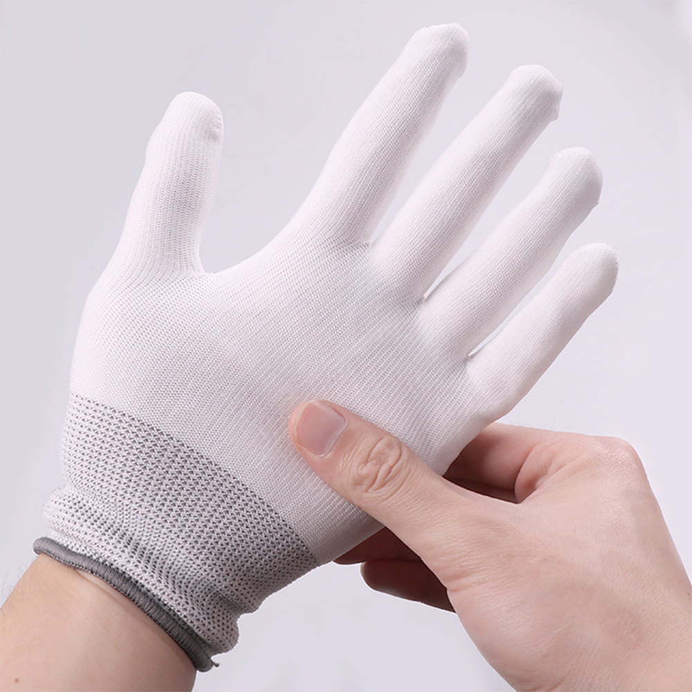 1 Pair LED Gloves Fiber Optic Flashing Gloves Colorful Luminous LED Gloves for Parties Supplies in Gags Practical Jokes from Toys Hobbies