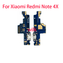 Flex Cable USB Port Charger Dock Plug Connector Charging Port Board Tail Wire Replacement for Xiaomi Redmi Note 4X(China)