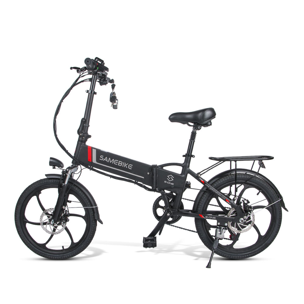 Samebike Intelligente Klapp Elektrische Moped Bike 20LVXD30 E-bike 20 Zoll Reifen Geschwindigkeit Elektrische Fahrrad