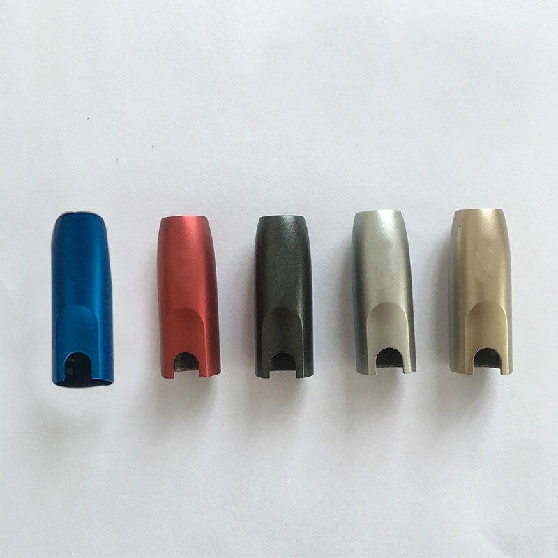 Accessoires E-cigarette de remplacement de coquille d'embout coloré de chapeau pour IQOS 2.4p 2.4 PLUS le boîtier supérieur de chapeau
