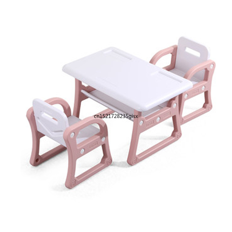 Kindergarten Children's Table Chair Set Baby Painting Writing Learning Plastic Toy Table And Chairs