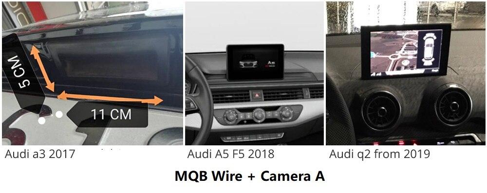 Cámara de visión trasera f VW Touran l Tiguan L C-Trek audi a3 a4l skoda superb Octavia