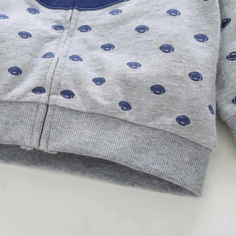 2019 아동 캐주얼 자켓 후드 지퍼 코트 후드 티 스웨터 소년 소녀 키즈 만화 코튼 탑스 아기 가을 옷