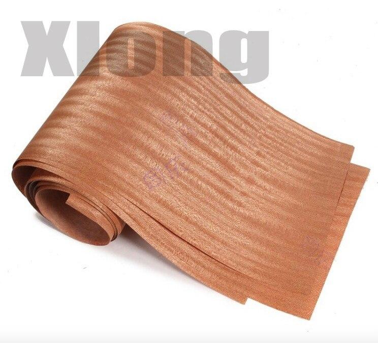 2Pieces/Lot L:2.5Meters  Width:15cm Thickness:0.2mm Natural Wood Veneer Thin Speakers Hand Veneer Furniture Edge Strip