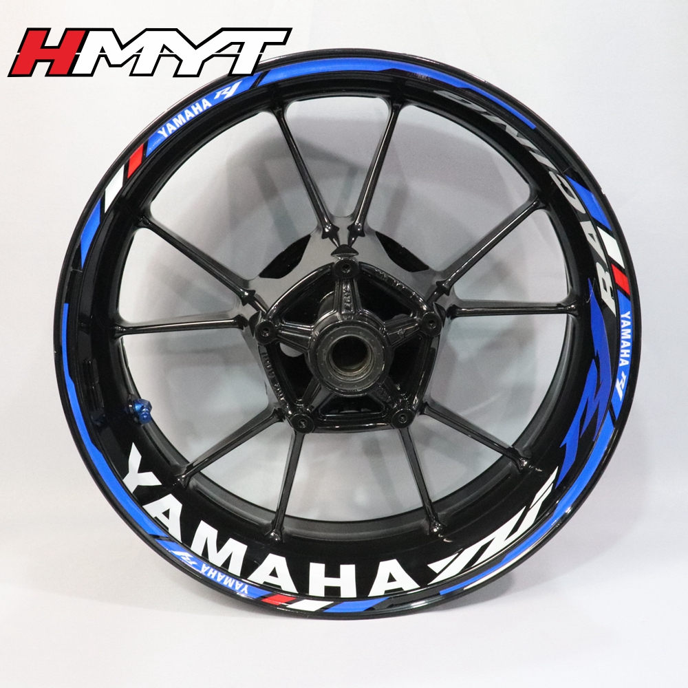Wheel Stickers Rim Decals BASIC YAMAHA