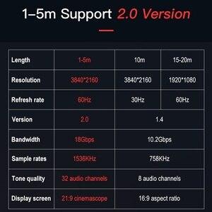 Image 5 - Shuliancable HDMI кабель 2,0 HDMI к HDMI 4K 1080P 3D 1 м 2 м 3 м 5 м 10 м 15 м 20 м для ноутбук с HDTV проектор xbox PS3/4 компьютерный кабель