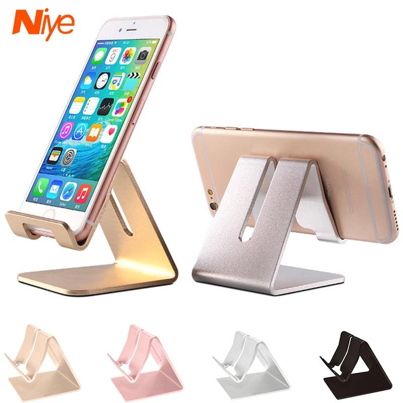 Металлический держатель для телефона, подставка для iPhone 11 Pro, держатели для смартфонов Xiaomi, Huawei Redmi 8, 9, 10, Портативная подставка для мобильног...