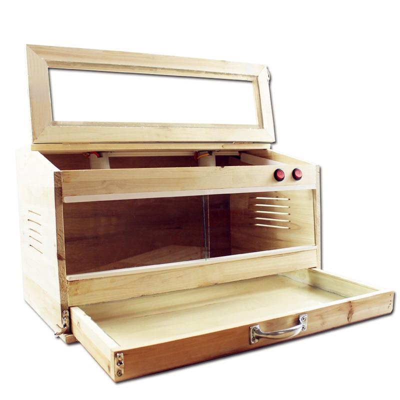 Pet Supplies Breeding Box Land Turtle Lizard Spider Solid Wood Box Keeping Snake Hedgehog Hamster Insulation Box