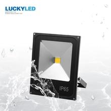 LUCKYLED LED 홍수 빛 10W 20W 30W 50W AC220V 방수 IP65 스포트 라이트 야외 정원 램프 투광 조명.